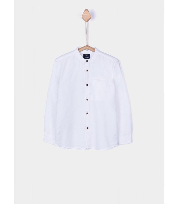 9f9e015a5 Camisa Bruno blanca para niño de Tiffosi - Adriels Moda Infantil
