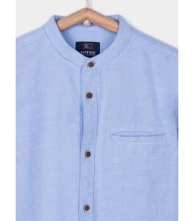 Camisa Bruno azul para niño de Tiffosi