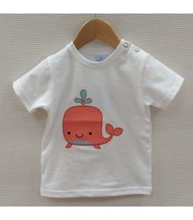 Camiseta Rosaleda de Sardón - Naranja