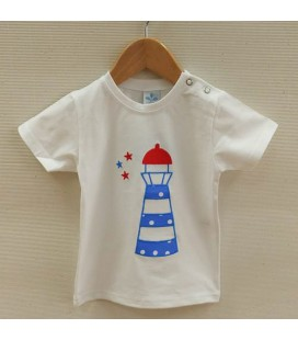 Camiseta Nautic para bebé de Sardón - Azul