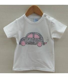 Camiseta Mosaico para bebé de Sardón - Gris
