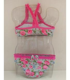 Bikini Jazmín para niña de Sardón - Buganvilla