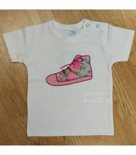 Camiseta Jazmín para bebé de Sardón - Buganvilla