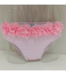 Culetín Flores para niña de Sardón - Rosa