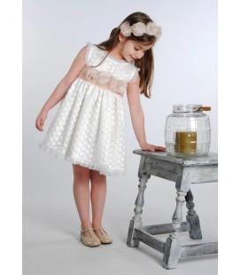 Vestido ceremonia para niña de Mamen - 311
