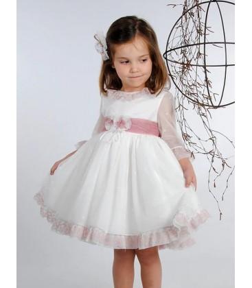 Vestido ceremonia para niña de Mamen - 313
