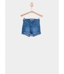 Shorts vaqueros Ariana_30 para niña de Tiffosi