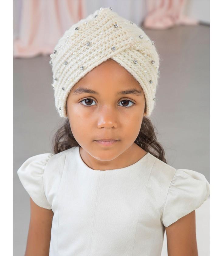 literalmente período visitar  Abel&Lula - Gorro turbante con guantes para niña - Adriels Moda Infantil