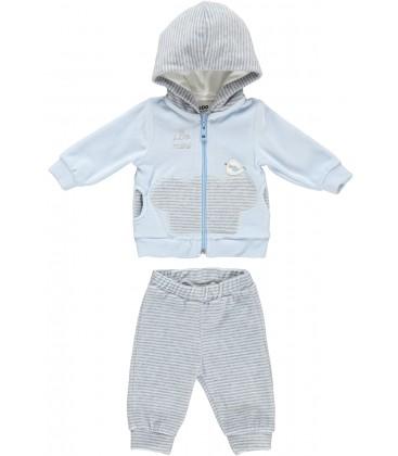 iDo by Miniconf - Chandal jogging celeste para bebé