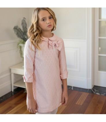 Dolce Aela - Vestido rosa para niña de Dolce Aela