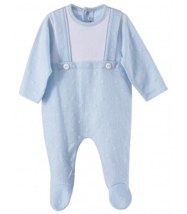 Calamaro - Pelele Moraine celeste para bebé