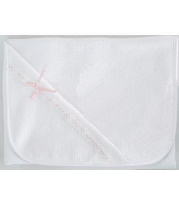 Calamaro - Arrullo lencero blanco / rosa