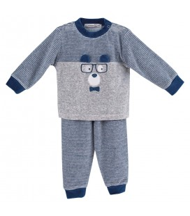 Calamaro - Pijama Oso Tejano para bebé