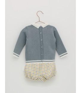 Foque - Conjunto azul azafata para bebé