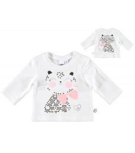 iDo by Miniconf - Camiseta beige para bebé