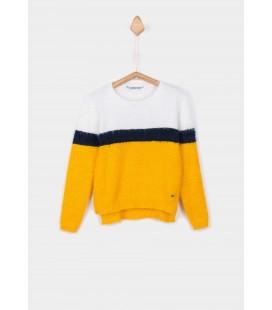 Tiffosi - Jersey Deo amarillo para niña
