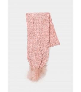 Tiffosi - Bufanda Noida rosa para niña
