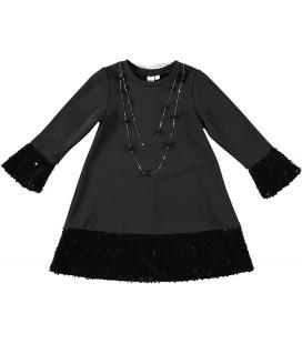 iDo by Miniconf - Vestido negro para niña