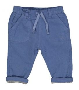Birba - Pantalón algodón azul para bebé