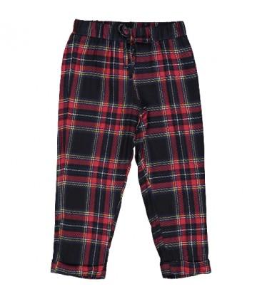 Trybeyond - Pantalón cuadro escocés para niña