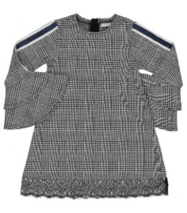 Trybeyond - Vestido gris para niña