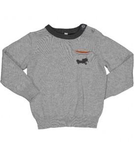 Birba - Jersey gris para bebé