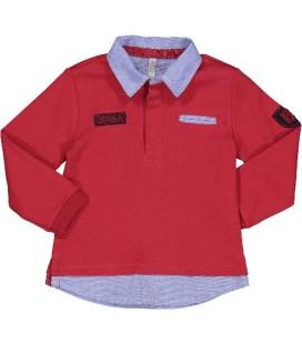 Birba - Polo rojo para bebé