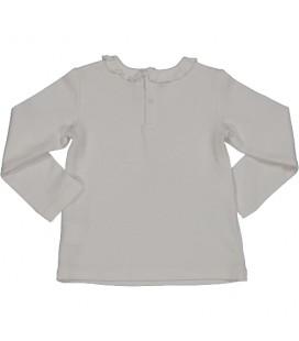 Birba - Camiseta blanca para bebé