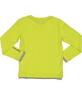 Trybeyond - Camiseta pistacho para niño