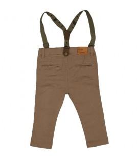 Birba - Pantalones cámel para bebé