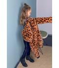 NONO - Cazadora reversible animal print para niña