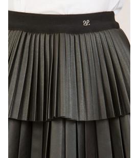 Abel&Lula - Conjunto blusa y falda plisada