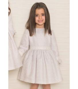 Atelier de Candela - Vestido gris para niña