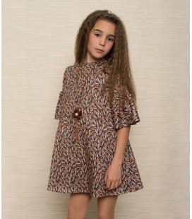 Atelier de Candela - Vestido estampado para niña