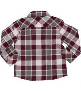 Birba - Camisa a cuadros para bebé