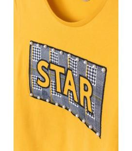 Tiffosi - Camiseta Alex amarilla para niña