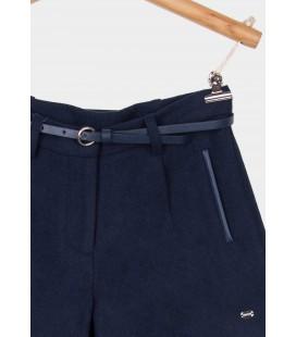 Tiffosi - Shorts Marne azul marino para niña