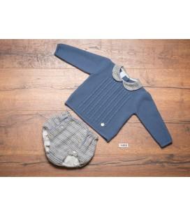 Granlei - Conjunto jersey y cubre para bebé