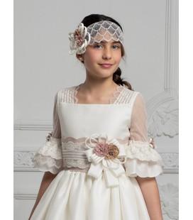 Hannibal Laguna - Vestido de seda para primera comunión