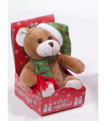 Gamberritos - Osito peluche pequeño navidad