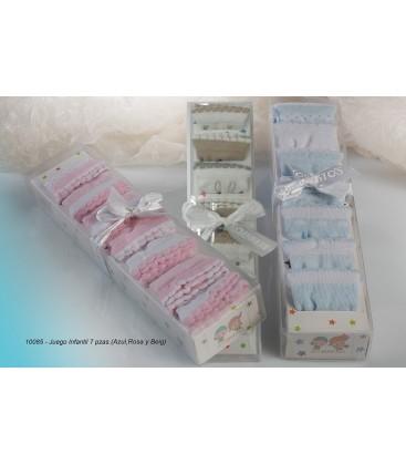 Gamberritos - Juego 7 calcetines para bebé