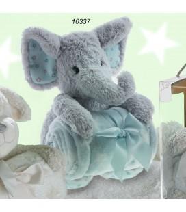Gamberritos - Elefante manta 80x110 cm