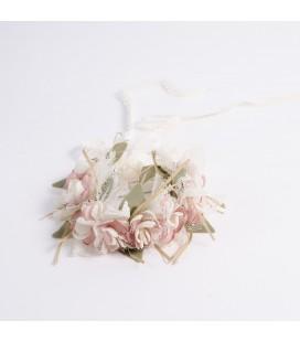 Tira de flores para primera comunión