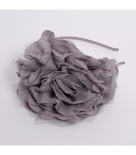 Diadema gris de Siena Complementos