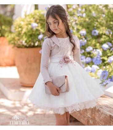 Mimilú Kids - Vestido ceremonia para niña