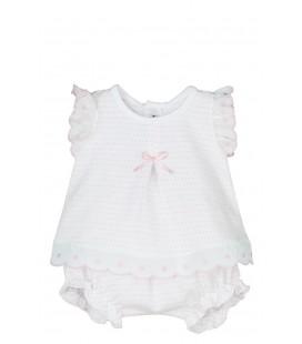 Calamaro Bebé - Conjunto Miconos rosa para bebé