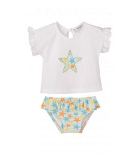 Calamaro - Conjunto baño culetín Estrella para bebé