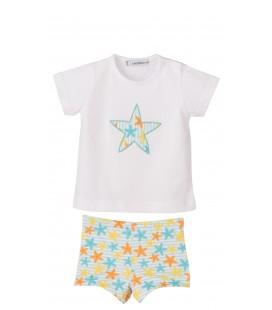 Calamaro - Conjunto baño boxer Estrella para bebé