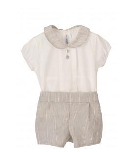 Calamaro Baby - Conjunto Akumal gris para bebé