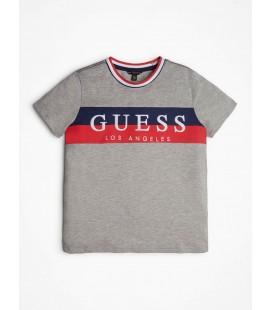 Guess - Camiseta gris para niño